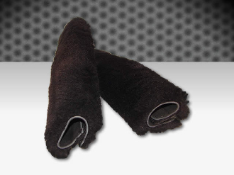 1.5 Inch Sheep Skin Covers (set of 2)